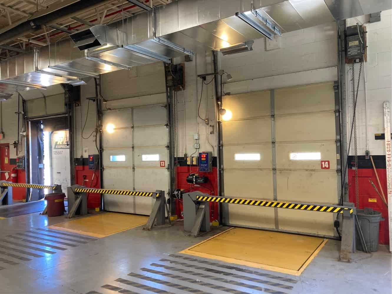 Loading dock at a distribution center Sudbury Ontario